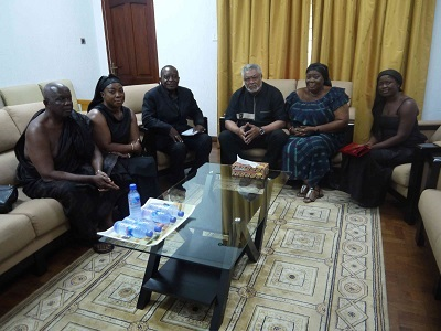 President Rawlings and the family of S S Omane.jpg12742