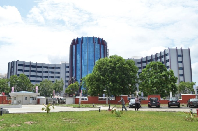One of the high-rise buildings around the Kotoka International Airport