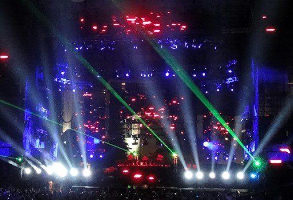 Electro music festival