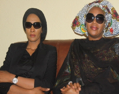 LADY BIANCA OJUKWU AND MRS MARGRET PETER OBI