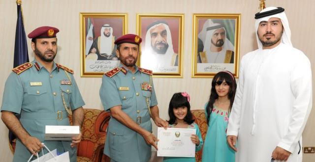 Major General Al Khaili honoring Mira