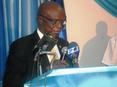 Mr Roger K. Angsomwine, Cabinet Secretary