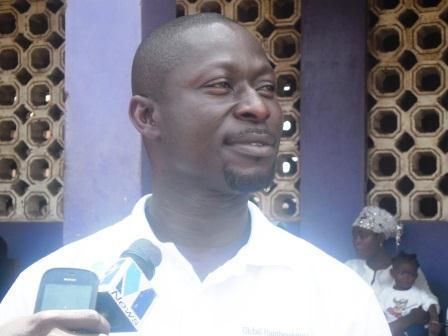 Mr Ibrahim Baidoo, ASHMA MCE