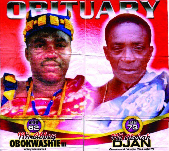 Nii Abbey Obokwashie II and Nii Abekah Djan