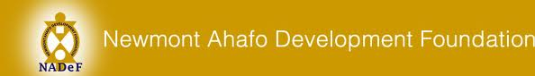 Newmont Ahafo Development Foundation (NADeF)