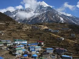 Nepal's mountainous region