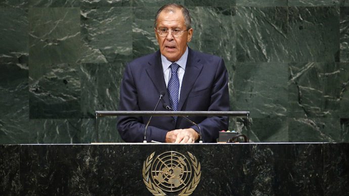 Russian Foreign Minister's Address to UN General Assembly