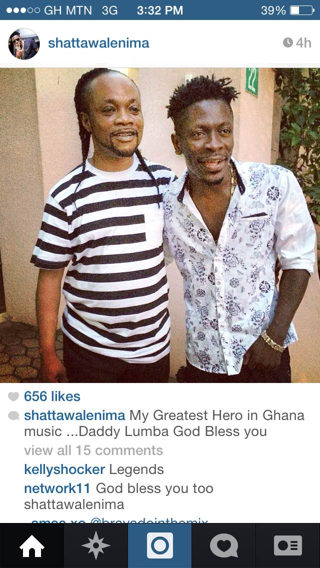 Daddy Lumba and Shatta Wale