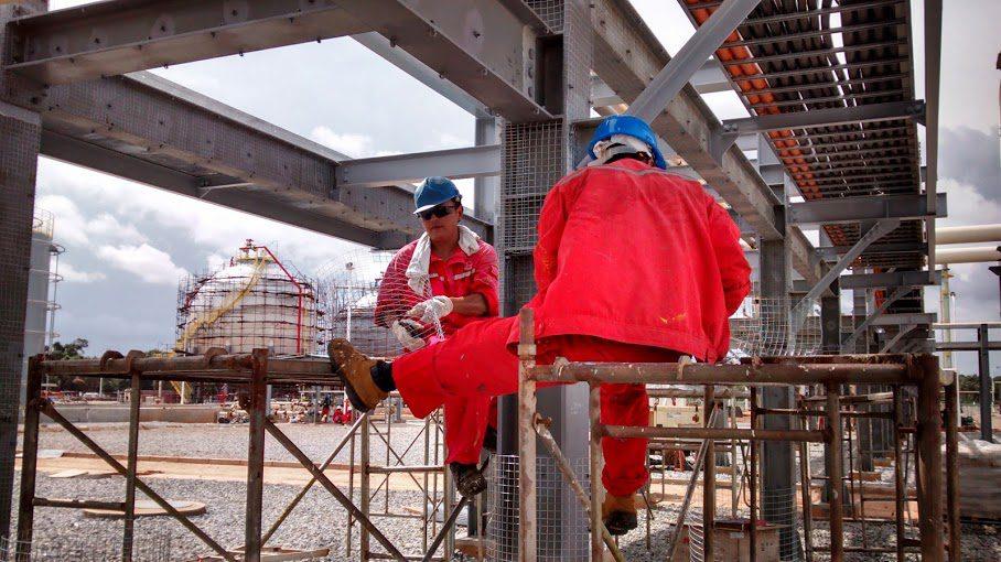Ghana-Gas-site
