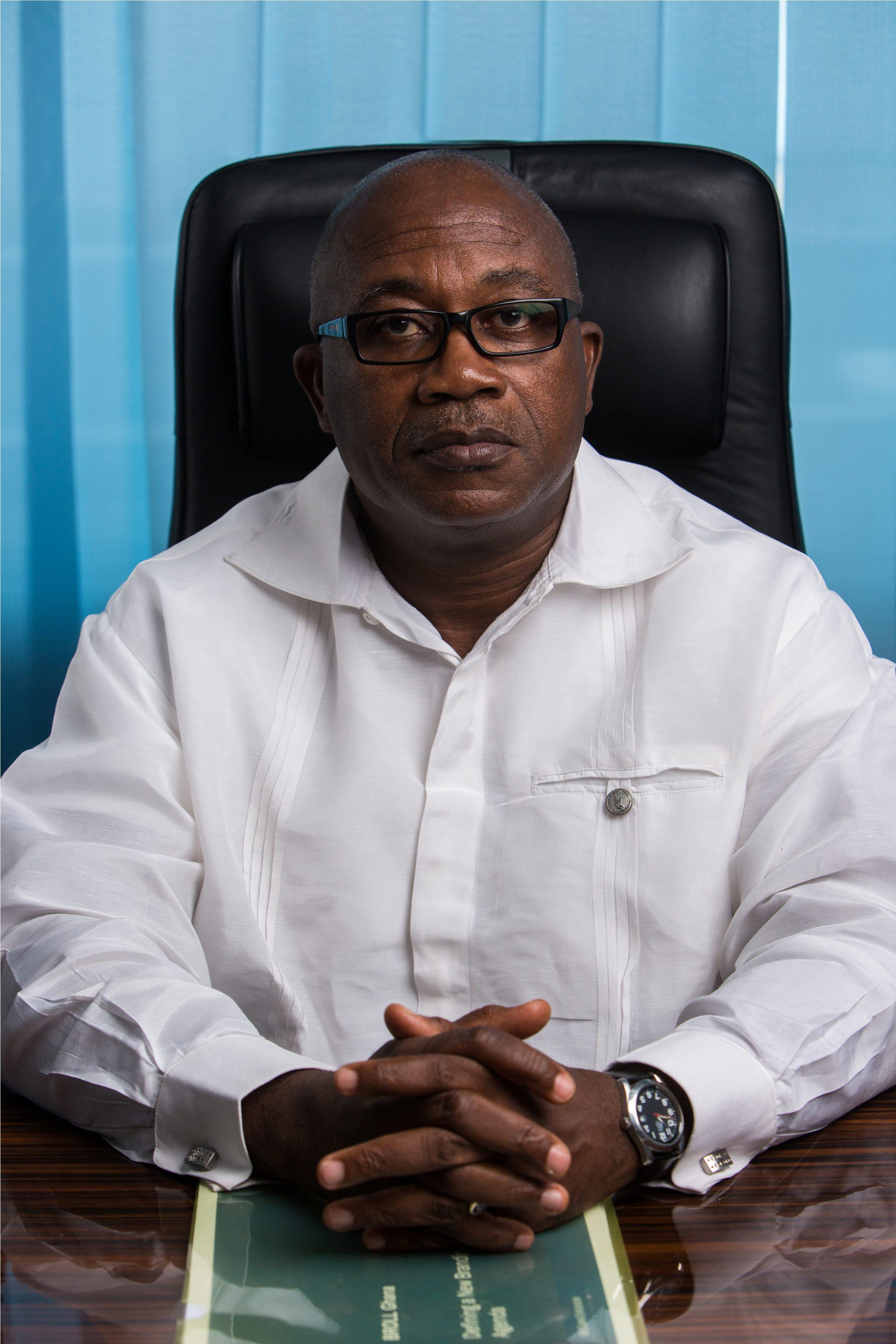 Mr Kofi Ampong, Broll Ghana?s Chief Executive Officer,