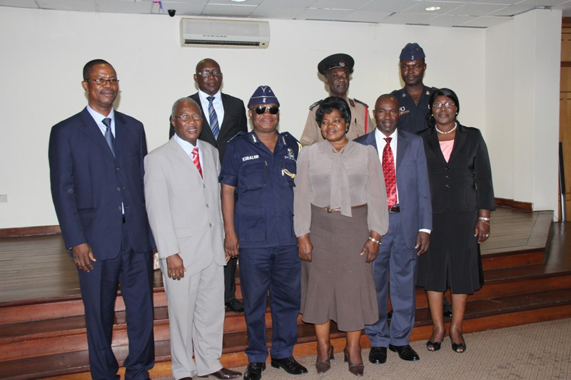 a group picture of the Task Force members and the officials