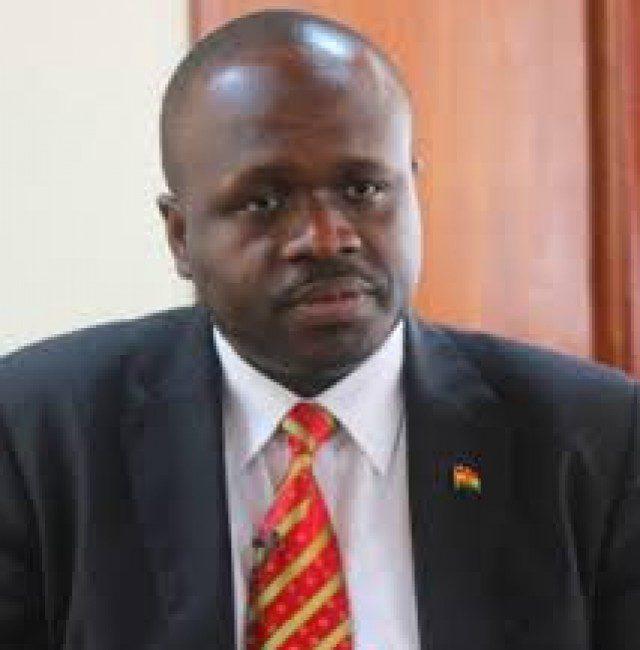 Dr Edward Kofi Omane-Boamah, the Minister of Communication
