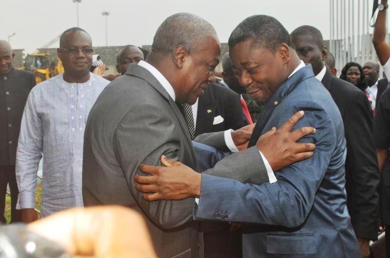 Togolese President and president Mahama