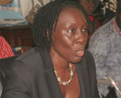 Marietta Brew Appiah Oppong ? Minister of Justice and Attorney Genaral
