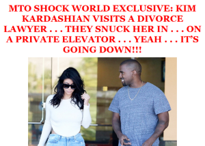 Kim Kardashian secretly visited a divorce lawyer in Los Angles this week.