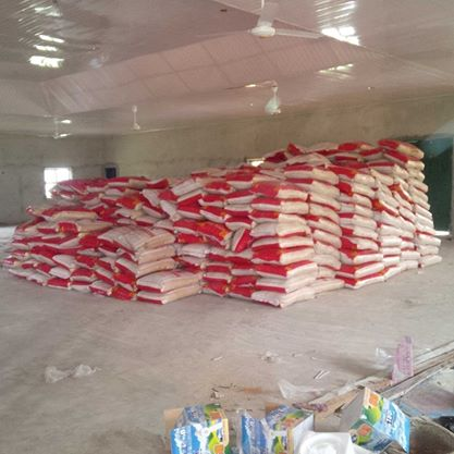 600 bags of rice donated by Nigeria Customs Service