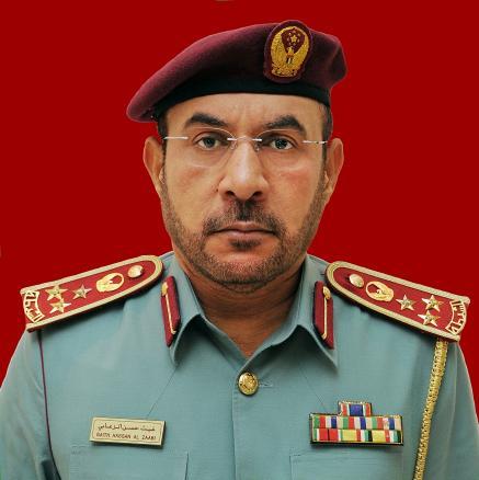 Brigadier Ghaith Hassan Al Zaabi, Director General, Traffic Coordination Directorate General, Ministry of Interior