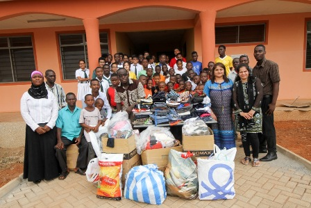 DPSI School Reaches Out To Needy