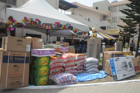 NGOs Support society with items