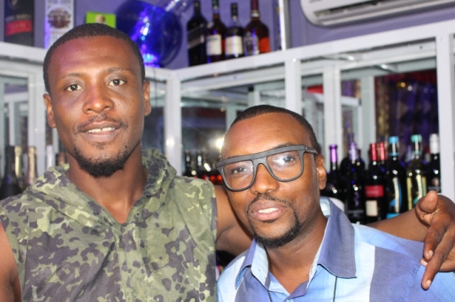 Okomfo Kwadee and David Oscar