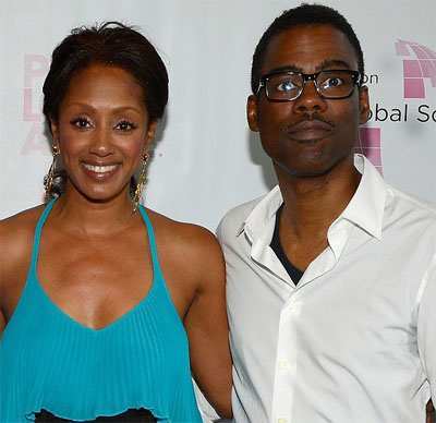 Chris Rock and wife Malaak Compton