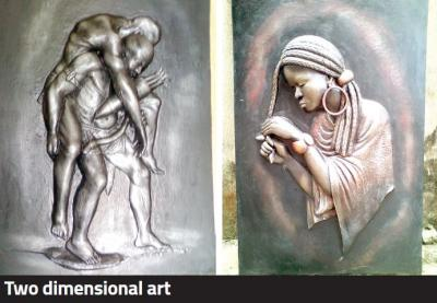 two dimensional art