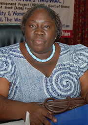 Dr Esther Ofei-Aboagye, Director of Institute of Local Government Studies,