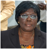Grace Adzroe, Acting Controller and Accountant General