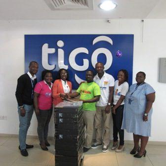 Tigo supports three young social entrepreneurs with laptops