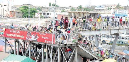 Kaneshie footbridge