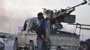 A file photo of the ISIL Takfiri militants