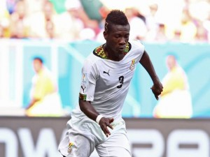 Asamoah Gyan is expected to be in action for Ghana when they take on Algeria