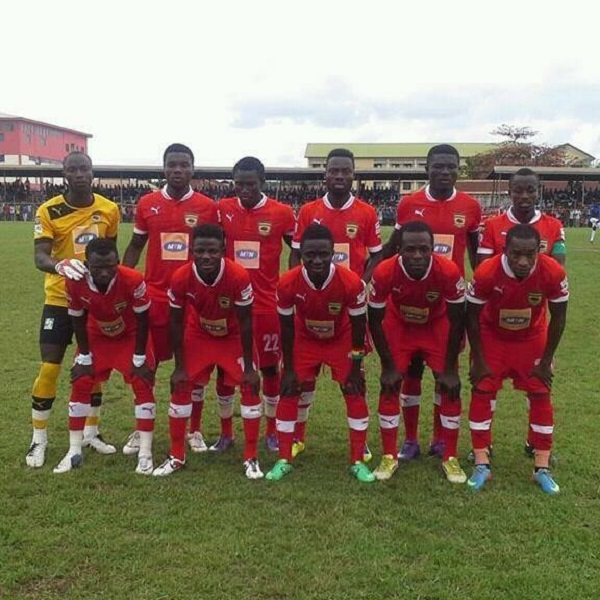 Asante Kotoko could draw a by