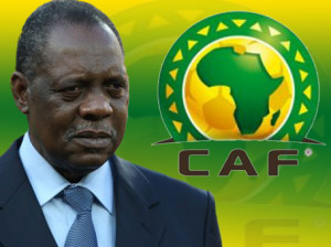 Issa Hayatou, President of CAF,