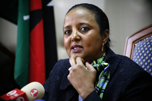 Cabinet Secretary for Foreign Affairs and International Trade Amina Mohamed