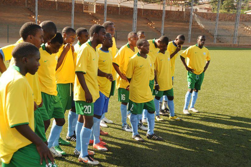 Rwanda U-17 team that took part in the World Club championship in 2011. (File)