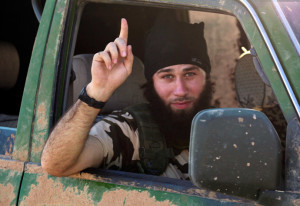 An Islamic State fighter (Reuters / Stringer)