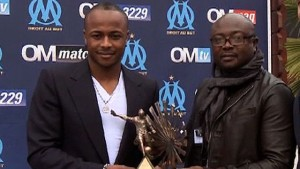 Abedi Pele and son Andre Ayew