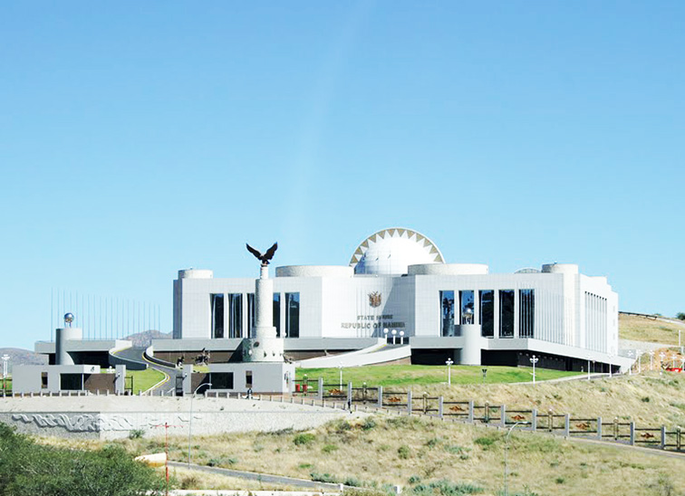State House of Namibia Windhoek