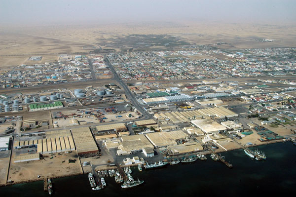 Namibia Walvis Bay port