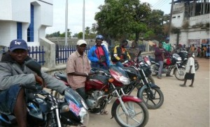 The ban on motor riding was imposed in 2011