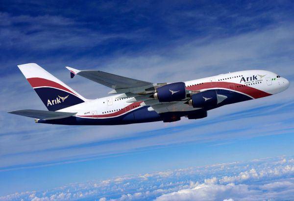 arik air plane