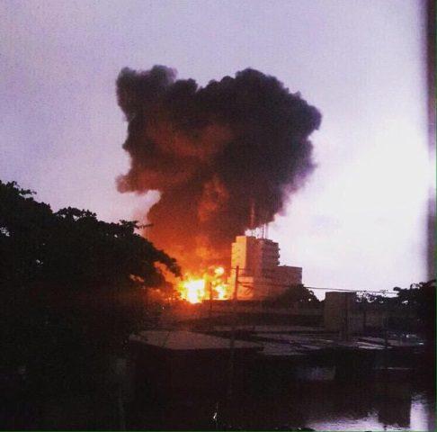 Fuel Station Explosion