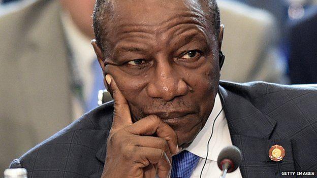 President of Guinea, Alpha Condé. Photo©Reuters