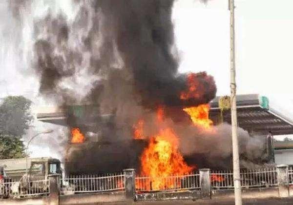 Goil Filling Station Fire