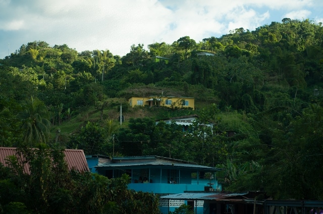 File photo provided by the United Nations Educational, Scientific and Cultural Organization (UNESCO) shows the Moore Town Maroon community in Jamaica's Blue and John Crow Mountains National Park. The UNESCO listed Jamaica's Blue and John Crow Mountains National Park as world heritage on July 3, 2015. (Xinhua)