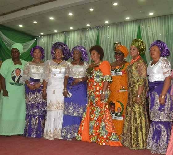 Wife of the Governor Anambra State, Chief (Mrs.) Ebelechukwu  Obiano (third left) with Wife of Deputy Governor, Abia State, Lady Vivian Udeoko Chukwu, Hon Speaker Anambra State House of Assembly, Hon Barrister, Rita Maduagwu, Wife of National Chairman APGA, Mrs. Mary Oye,Wife of Deputy Governor of Anambra State, Mrs. Oby Okeke,  Hon Commissioner for Women Affairs, Dr Victoria Chikwelu (First Left)  and others at the Mothers? Summit held Friday at Women Development Centre, AwkaWife of the Governor Anambra State, Chief (Mrs.) Ebelechukwu  Obiano (third left) with Wife of Deputy Governor, Abia State, Lady Vivian Udeoko Chukwu, Hon Speaker Anambra State House of Assembly, Hon Barrister, Rita Maduagwu, Wife of National Chairman APGA, Mrs. Mary Oye,Wife of Deputy Governor of Anambra State, Mrs. Oby Okeke,  Hon Commissioner for Women Affairs, Dr Victoria Chikwelu (First Left)  and others at the Mothers? Summit held Friday at Women Development Centre, Awka