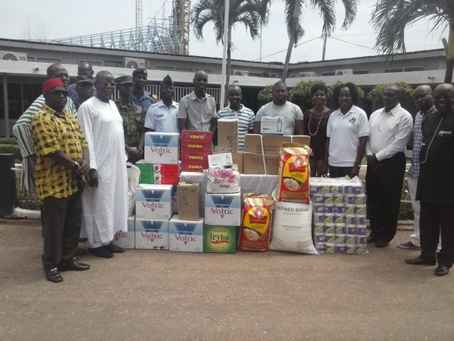 GAFCSC Donates