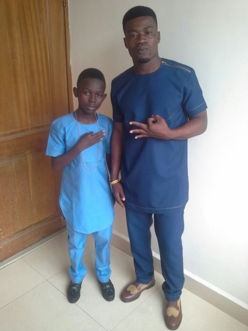 Tutulapato and manager Kennedy Addae