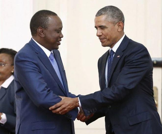 President Kenyatta and Obama